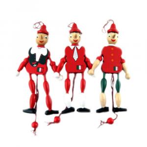 Pinocchio marionetta in legno