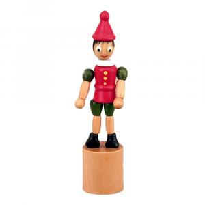 Pinocchio snodabile in legno cm 13