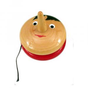 Pinocchio yo yo in legno