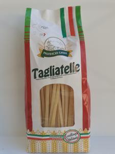 Tagliatelle 500g. Pasta Artigianale essiccata lentamente a bassa temperatura del Pastificio Gioia Gioia Tauro (RC)