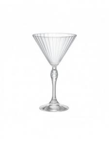 Linea America Confezione Da 6 Pezzi Bicchieri Dof Per Cocktails Coppa Martini Small Collection Collezioni Raffinate Vetro Trasparente Casa Cucina