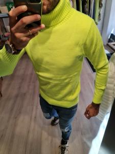 Dolcevita giallo fluo