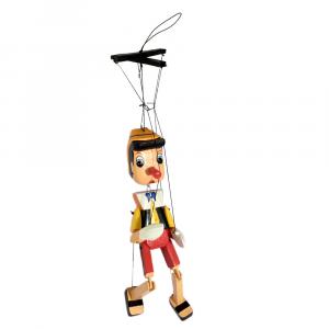 Pinocchio burattino in legno cm 50