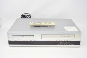 Lettore Dvd/vhs Thomson Dht6100e Con Telecomando