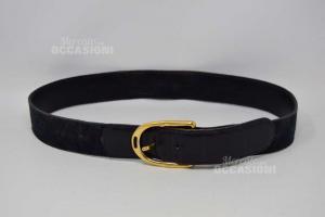 Cintura Originale Gucci Nera 133447.1476.85.34 Made In Italy ( Usata )