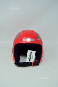 Helmet Ski Carrera Red Size .xx S 51 / 52 Cm