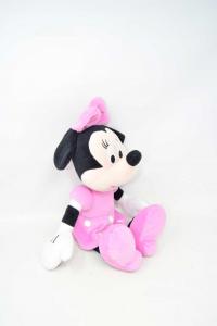 Peluche Diseny Minnie Vestito Rosa