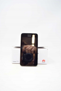 Cellulare Huawei Y3 Con Alimentatore, Dual Camera, Schermo 4