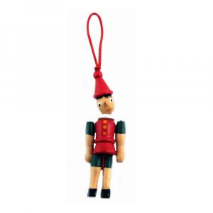 Pinocchio in legno cm 10