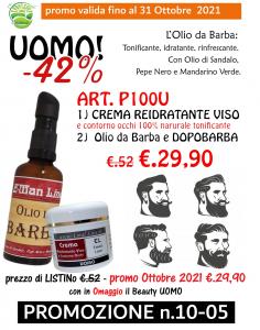 Crema Viso 50ml + Olio da Barba e Dopobarba Imperiale 50 ml