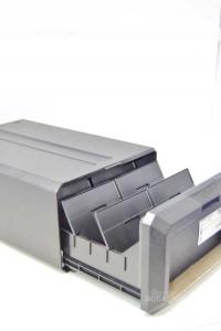 Porta Floppy Disk Posso In Plastica Nero