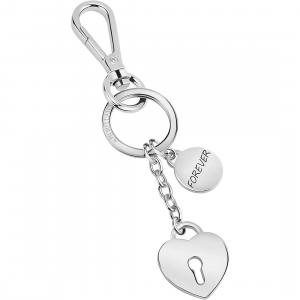Portachiavi donna in acciaio Morellato con cuore SD7146