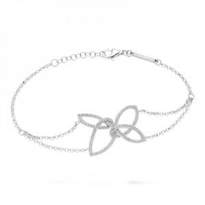 Bracciale donna in argento 925 Morellato con zirconi bianchi SAHA06