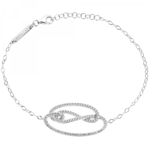Bracciale donna in argento 925 Morellato con zirconi bianchi SAHA08