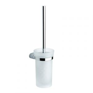 PORTA SCOPINO DA PARETE MODELLO MIDA CROMO METAFORM                    cm 10 x h, 39 x 12,5