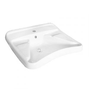 LAVABO DISABILI Bianco 2°SCELTA -cm L67 x P59 x H23,5