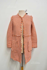 Jacket Woman Pimko Tag Made In Italy Size 40