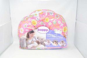 Nursing Pillow Boppy Pink Removable Cover And Washable 0 / 9 Months
