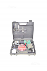 Drill - Air Parkside With Case Ed Accessories