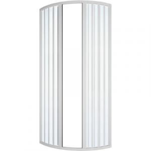 BOX DOCCIA CIRCOLARE A SOFFIETTO MOD. ILARIA LUX cm 78-80 Apertura Centrale