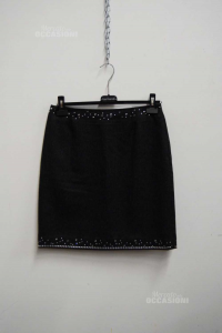 Skirt Woman Versace Jeans Couture Gray Dark Size.46