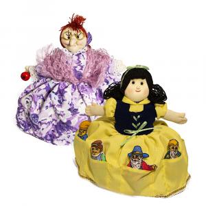 Bambola in stoffa Biancaneve