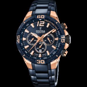Orologio cronografo Festina Special Edition con cinturino azzurro F20524/1