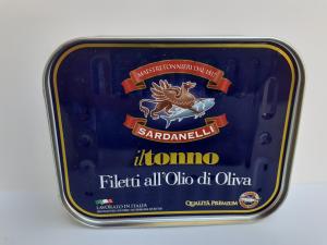 IlTonno Filetti all'olio di oliva 350g. Sardanelli Maestri Tonnieri dal 1817 Maierato (VV)