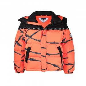 313 Puff Jacket Barbed Wire