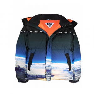 313 Puff Jacket Earth Space