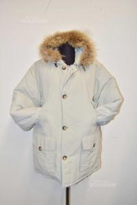 Jacket Duvet Unisexlila Peak Size M Gray Ice