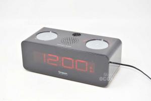 Radio Sveglia Oregon Nera PRA320PN Con Cavo
