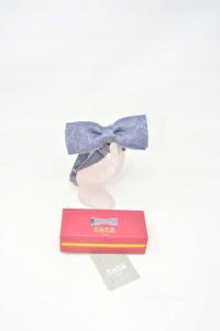 Paipionne Fefè Naples Gray Blue 70%lana 30% Silk New