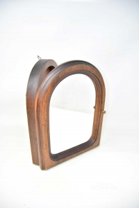 Wooden Cabinet Keychain To Hang With Mirror 27x34x6 Cm