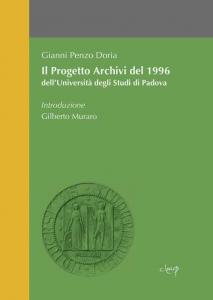 Il Progetto Archivi del 1996 dell'Università degli Studi di Padova