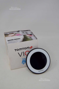 Tomtom Vio (from Utilizzare With App) Complete Of Box And Accessories