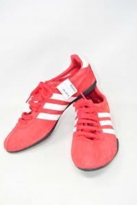 Scarpe Uomo Adidas Titan Rosse Scamosciate N 44