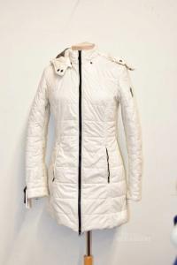 Vest Woman Refrigwear White With Cappuccio Size 42