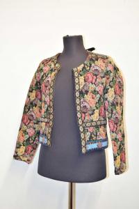 Jacket Woman Mja Paris Size S Fantasy Floral