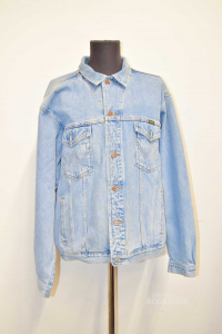 Jacket Man In Jeans Wrangler Sizexx L