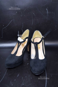Scarpe Donna Nere N 36 Effetti Made In Italy
