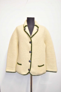 Jacket Woman Tyrolean Austria Beige Green