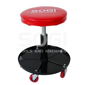 Sgabello officina garage registrabile in altezza girevole con pistone pneumatico SOGI X4-02