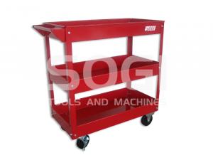 Carrello portautensili porta attrezzi 3 piani in metallo per officina SOGI X2-09
