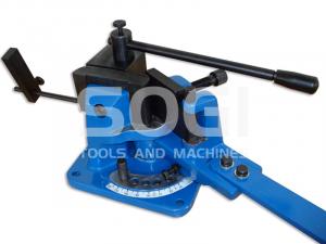 Piegatrice manuale da banco SOGI PIEG-100 con matrici