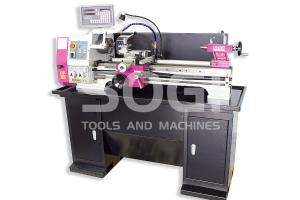 Tornio di precisione SOGI MP3-750D visualizzato e motore Brushless 305 x 750