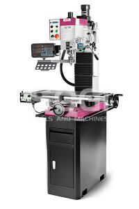Fresatrice professionale visualizzata SOGI S3-75D con basamento e motore Brushless