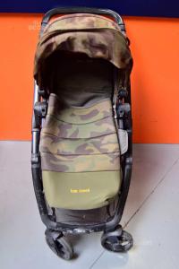 Stroller + Navicella Trasformabile Be Cool Slide Match Green + Bag