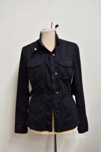 Jacket Woman Woolrich Size.m Black