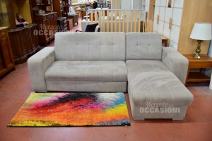 Sofa Gray With Penisiola Container And Extendable (reversible Dxor S X) The